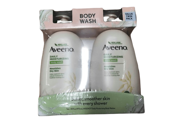 Aveeno Aveeno Daily Moisturizing Body Wash, 2 pk./33 fl. oz.