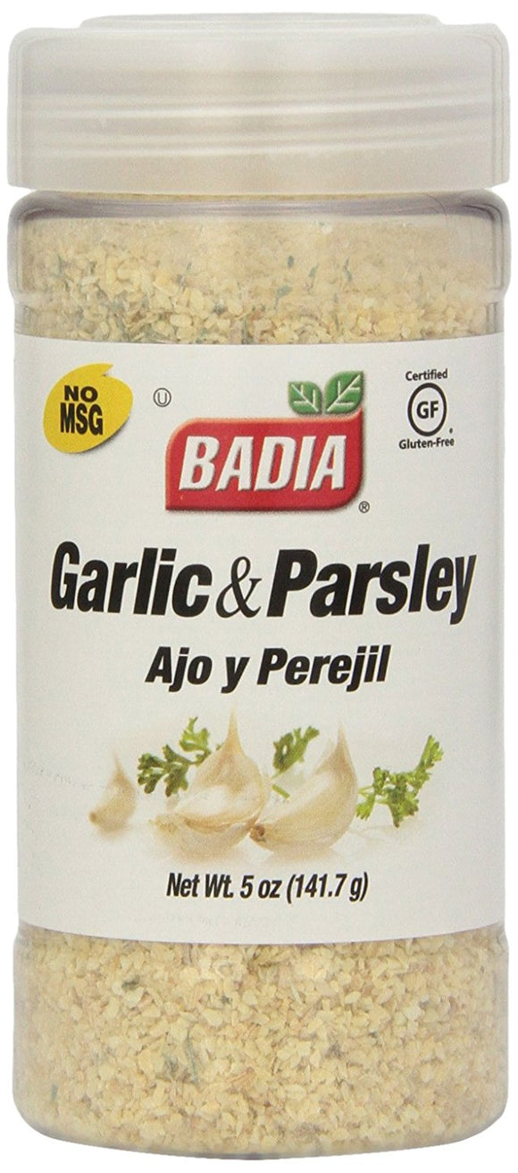 Badia Ground Garlic & Parsley, 5 Oz
