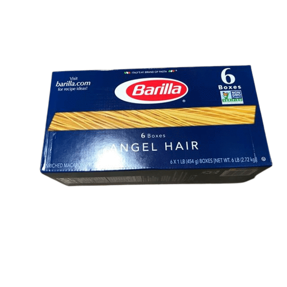 Barilla Barilla Pasta, Angel Hair, 16 Ounce (Pack of 6)