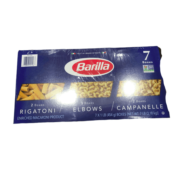 Barilla Barilla Rigatoni, Elboews, Campanelle Variety Pack, 16 Ounce (Pack of 7)