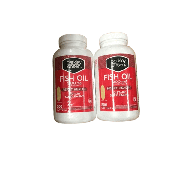 Berkley Jensen Berkley Jensen 1,200mg Fish Oil Softgels, 2 pk./200 ct.