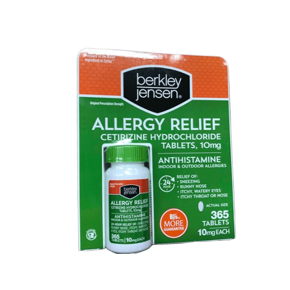 Berkley Jensen Berkley Jensen Allergy Relief, 365 Count
