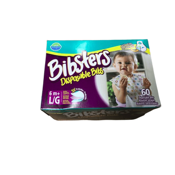 Bibsters Bibsters Disposable Bibs, 60 ct.