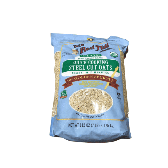 Bob's Red Mill Quick Cooking 100% Whole Grain Oats, 112 Ounce - ShelHealth.Com