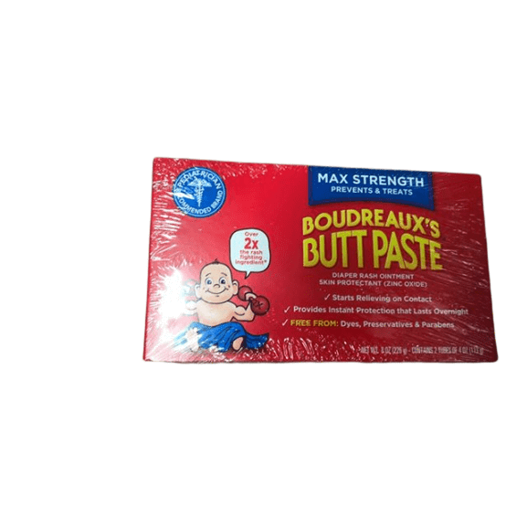 Boudreaux's Boudreaux's Butt Paste Diaper Rash Ointment | Maximum Strength | 8 oz.