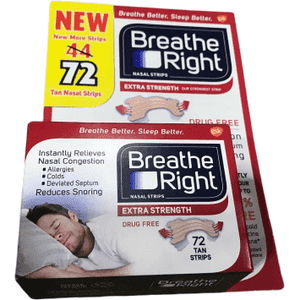 Breathe Right Breathe Right Extra Strength Nasal Strips | 72 Count.