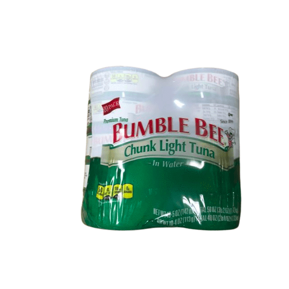 Bumble Bee Chunk Light Tuna In Water, 5 Ounce (Pack of 10) - ShelHealth.Com