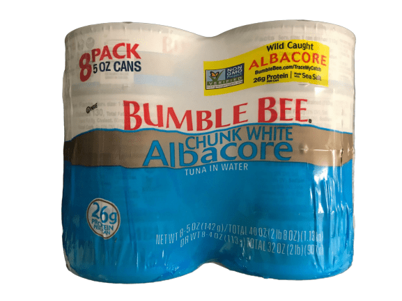 Bumble Bee Bumble Bee Chunk White Albacore Tuna in Water, 8 pk./5 oz.