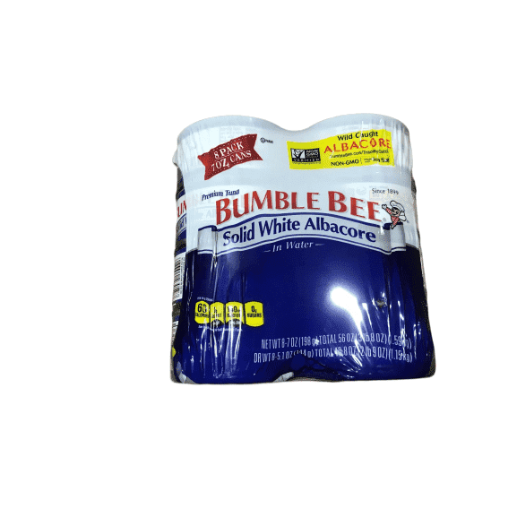 Bumble Bee Solid White Albacore Tuna In Water, 7-Ounce Cans (Pack of 8) - ShelHealth.Com