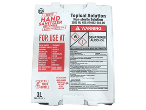 CD CD Hand Sanitizer Topical Solution, 3 Litres