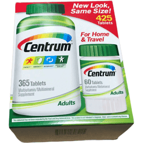 Centrum Centrum Adults Multivitamin Multimineral Supplement: 425 Tablets