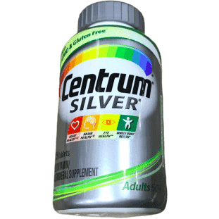 Centrum Centrum Silver Adult Multivitamin Supplement Tablet, Vitamin D3, Age 50+ (325 Count)