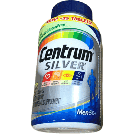 Centrum Silver Men's Multivitamins - 275 tablets - ShelHealth.Com