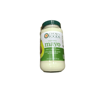 Chosen Foods Avocado Oil Traditional Mayo 24 oz. - ShelHealth.Com