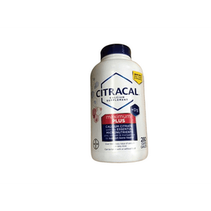 Citracal Citracal Calcium Plus D3, 280 ct.