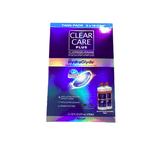Clear Care Clear Care Cleaning & Disinfecting Eye Solution HydraGlyde (2 X 16fl Oz Packs)