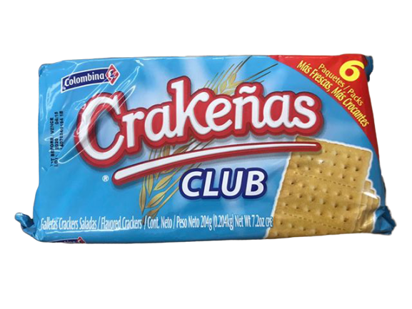 Colombina Colombina Crakenas Club Crackers, 7.2 oz