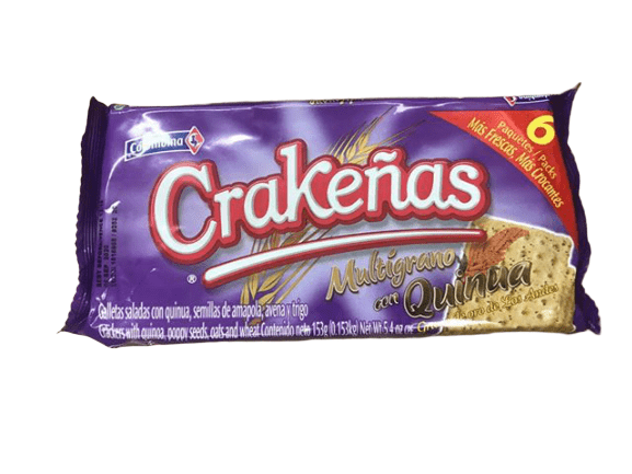 Colombina Colombina Crakenas Multigrano un Quinua Crackers, 5.4 oz