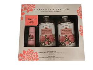 Crabtree & Evelyn Crabtree & Evelyn Rosewater Body Wash And Bonus Hand Therapy Set