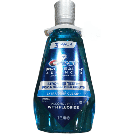 Crest Pro-Health Advanced Mouthwash with Extra Deep Clean Fresh Mint - 33.8 oz. - ShelHealth.Com