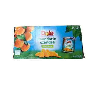 Dole DOLE Mandarin Oranges in Light Syrup, 11 Ounce Can (Pack of 8)