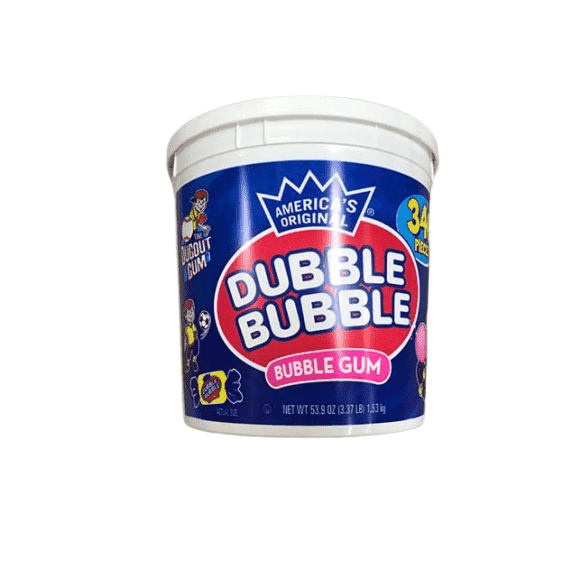 Dubble Bubble Dubble Bubble Gum, 53.9 Ounce - 340 Count Bucket