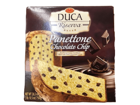 Duca Duca Riserva Panettone Chocolate Chip, 26.5 oz
