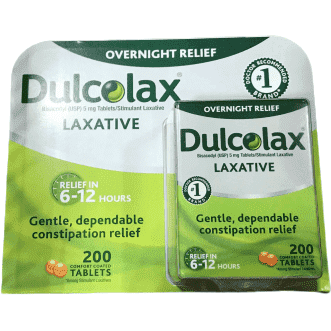 Dulcolax Dulcolax Stimulant Tablets 200 count, 1 Bottle
