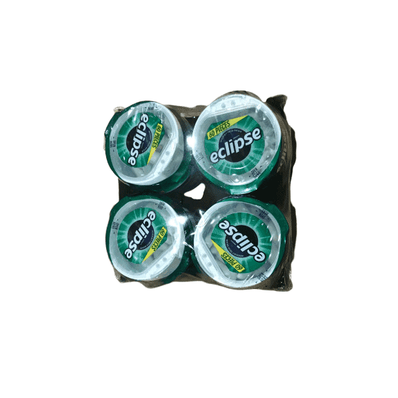 Eclipse Eclipse Big-E Gum Spearmint - 60 Pieces - 4 ct