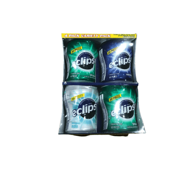 Eclipse Eclipse Big-E Gum Variety Pack - 60 Pieces - 4 ct