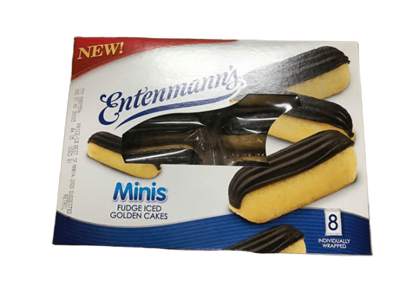 Entenmann's Mini Fudge Iced Golden Cake, 8 Count