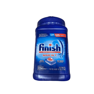 Finish Finish Power Ball Max In One Plus (125 Tablets)