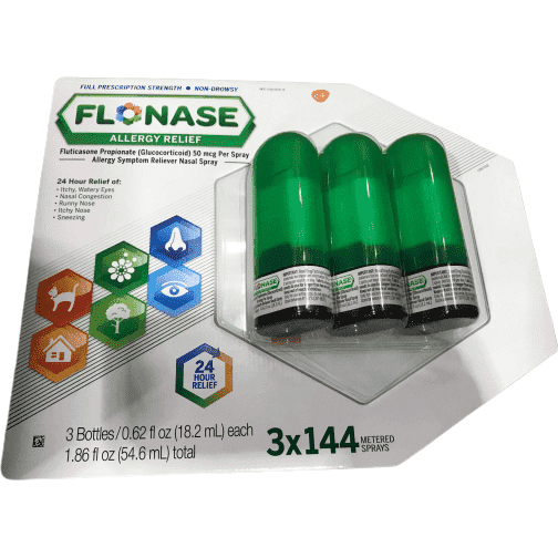 Flonase Flonase Allergy Relief Nasal Spray - 120 Metered Sprays - Total 360 sprays