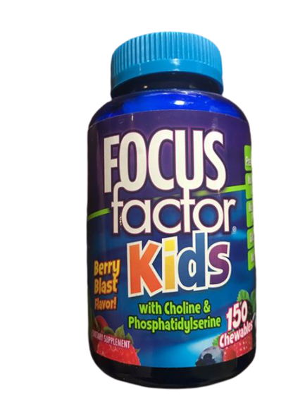 FOCUSfactor Kids, 150 Chewable Tablets - ShelHealth.Com