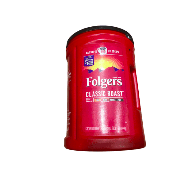 Folgers Folgers Classic Roast Ground Coffee, 51 Oz