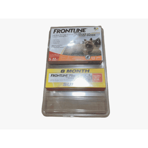 Frontline Frontline Plus Flea and Tick Treatment for Dogs, 8 Month Supply