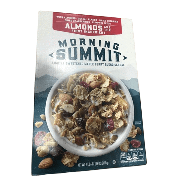 General Mills Morning Summit Whole Grain Cereal, 38 oz - ShelHealth.Com