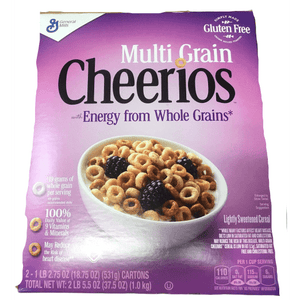 General Mills Multigrain Cheerios - 37.5 oz. - ShelHealth.Com