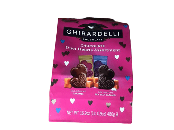 Ghirardelli Ghirardelli Chocolate Duet Hearts Assortment, Valentine's Day Edition, 16.9 oz