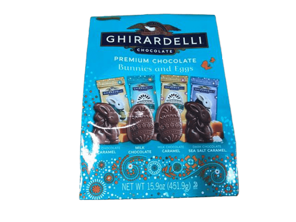 Ghirardelli Ghirardelli Premium Chocolate Bunnies & Eggs, 15.9 oz