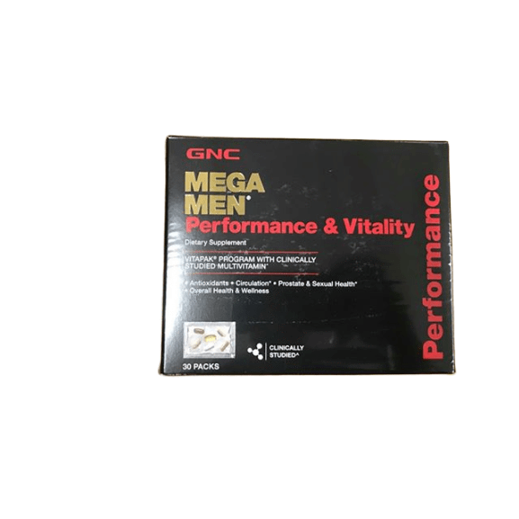 GNC GNC Mega Men Performance & Vitality Dietary Supplement, 30 pk.