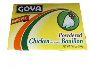 Goya Goya Foods Chicken Flavored Bouillon Powder Econo Pak, 7.05 Ounces