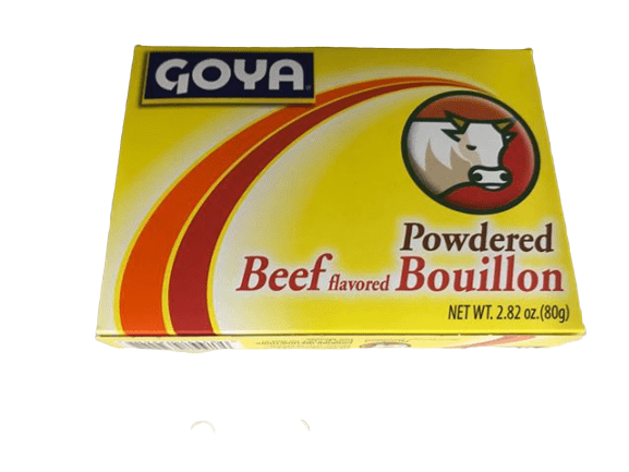 Goya Goya Foods Cubitos Polvo Beef (Powdered Beef Bouillion), 2.82-Ounce