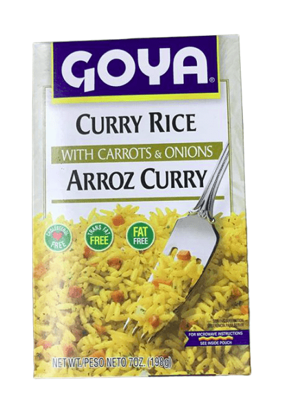 Goya Goya Foods Curry Rice with Carrots & Onions, 7 oz