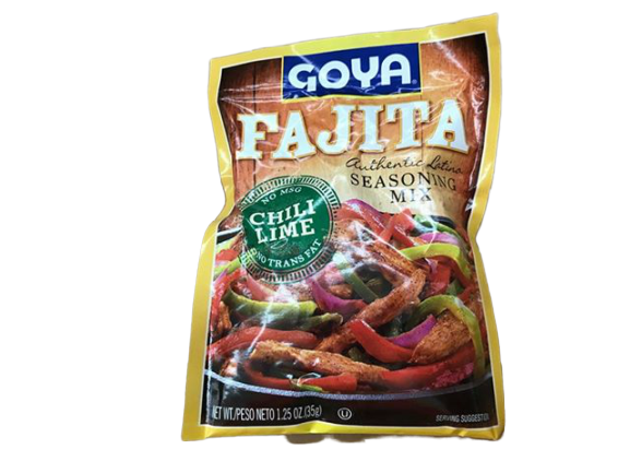 Goya Goya Foods Fajita Seasoning Mix, 1.25 Ounce