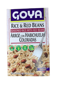 Goya Goya Seasoned Rice with Red Beans, 7 Oz