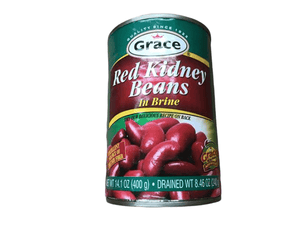 Grace Grace Red Kidney Beans in Brine, 14 oz