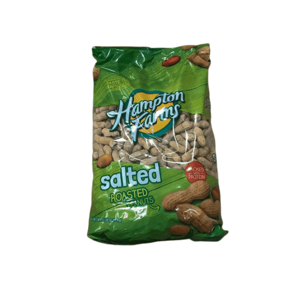 Hampton Farms Hampton Farms Salted Roasted In-Shell Peanuts, 5 lbs.
