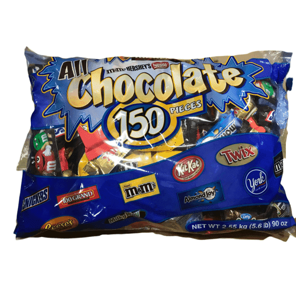 Hershey's Hershey's All Chocolate Pieces, 150 Pcs, 90 Ounce Bag