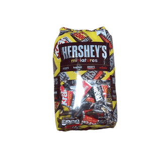 HERSHEY'S Miniatures Chocolate Candy, Snack Size Assortment, 56 Ounce Bulk Bag - ShelHealth.Com